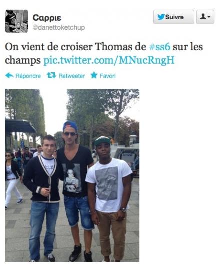 DERNIÈRE MINUTE : A peine exclu de Secret Story et Thomas déjà sur la célèbre avenue des Champs-Elysées