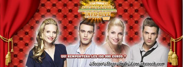 INTERVIEW : Découvrez les premières interviews des Finalistes de Secret Story 6 et de Nadège la gagnante