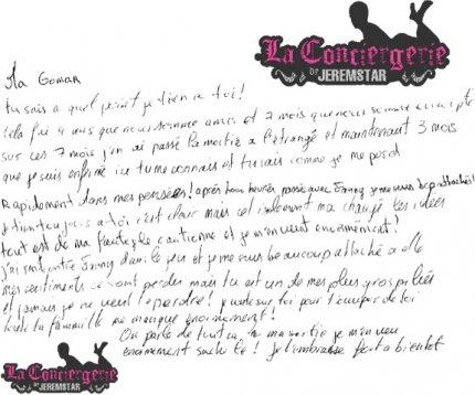 LETTRE DE RUPTURE : Jeremstar dévoile la lettre de Rupture de Julien à Margaux !