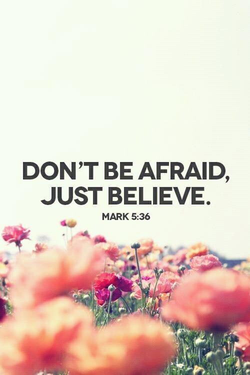 Ne crains pas. ♥†