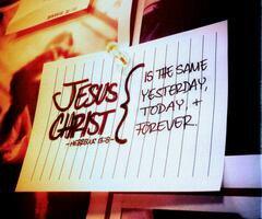 Jésus ne change pas. ♥