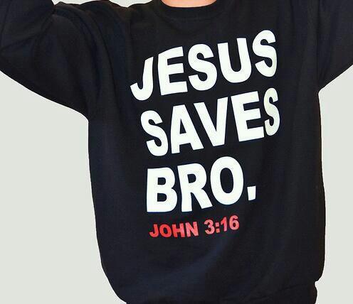 Jesus saves bro ♡