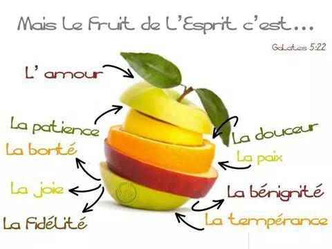 Le fruit de l'Esprit ♥