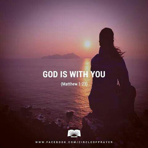 Dieu est avec nous ♡