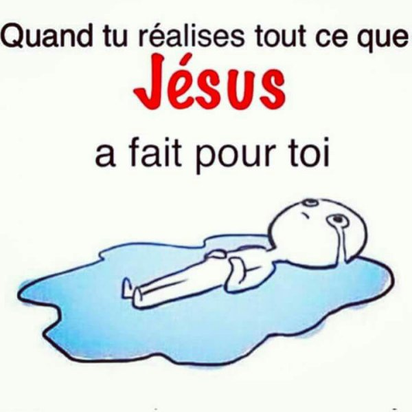 Merci Jésus Christ ❤