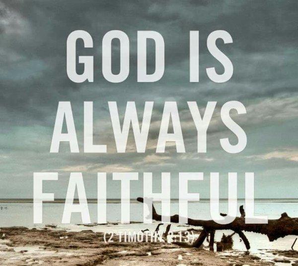 La fidélité de Dieu