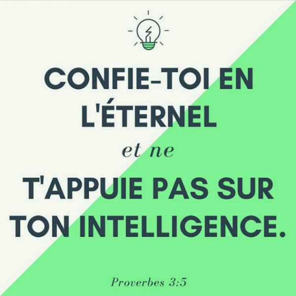 Notre intelligence vs celle de Dieu