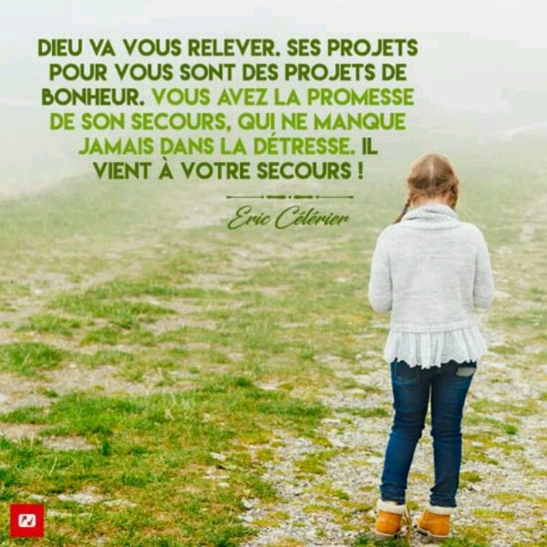 Parole d'encouragement