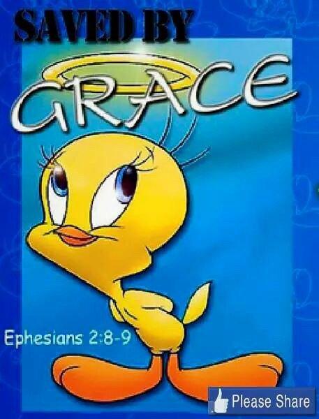 Sauvé par la grâce de Dieu