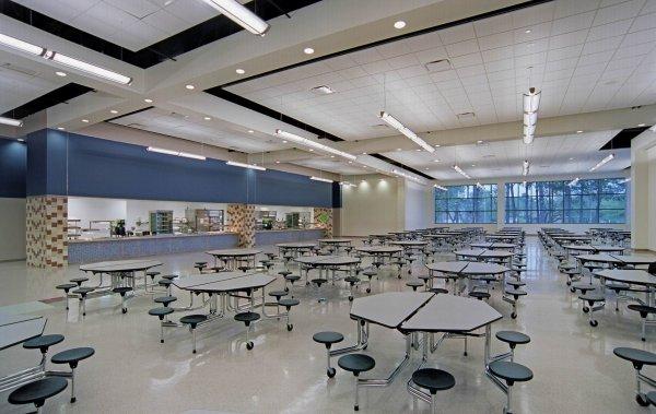 Les salles de cours (rez-de-chaussée)