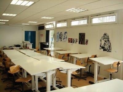Les salles de cours (1° étage)