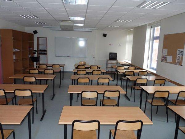 Les salles de cours (2° étage)
