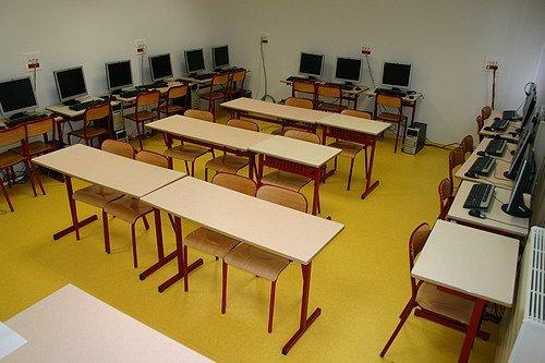 Les salles de cours (3° étage)