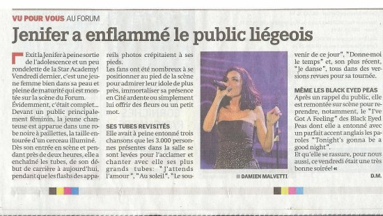 Revue de presse : Paris Match - 12 Mai 2011