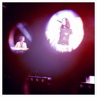 Jenifer au NRJ Music Tours à Paris le 15 Juin 2011