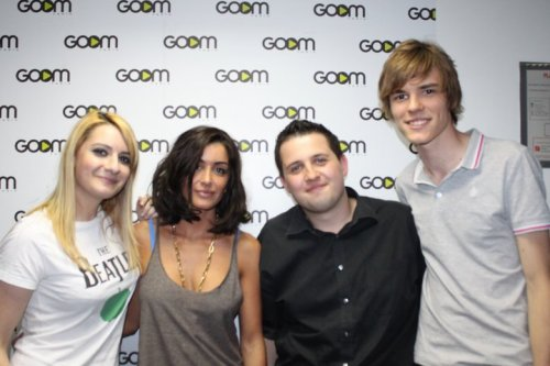 Jenifer dans les studios de Goom Radio le 16 Juin  2011