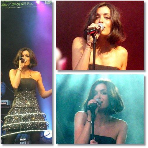Jenifer en concert à Fresnes - Parc des Sports le 19 Juin 2011