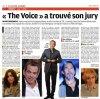 """Jenifer, membre du jury de la nouvelle émission de TF1 """"THE VOICE"""""""