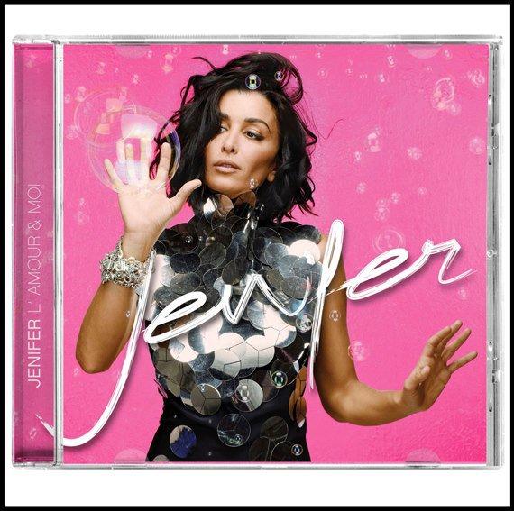 """""""L'amour & moi"""", le nouvel album de Jen sera dans les bacs le 17 Septembre prochain en deux éditions disponibles : limitée ou collector ! Enjoy !"""