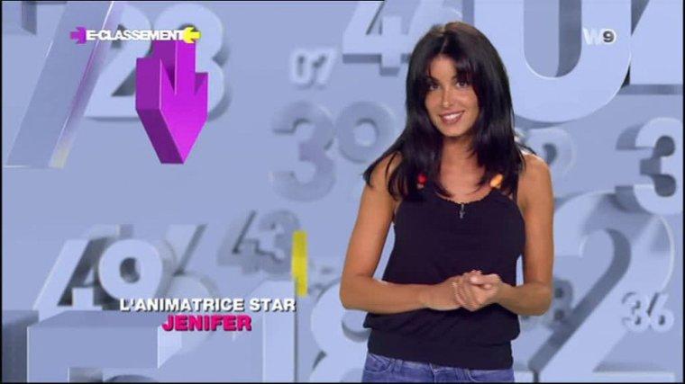E-Classement - W9 [16/09/12] - Jenifer endosse le rôle de présentatrice ! Trop mimie Jen !