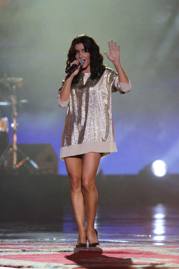 Photos + vidéo bonus de Jenifer au concert pour la tolérance à Agadir :)