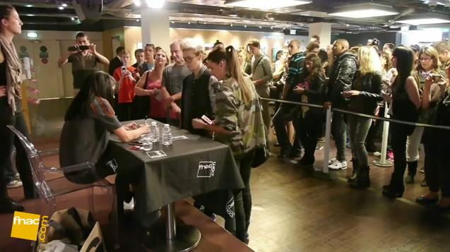 Jenifer rencontre ses fans à la FNAC de Montparnasse & se confie en exclusivité sur ses ressentis ! ;)
