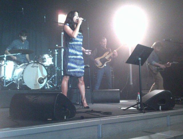 Concert Privé au Pavillon Gabriel [18/10/12]