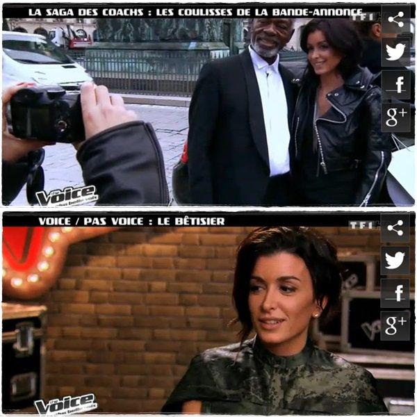 Caps de The Voice, prime 2, l'after. Coulisses du bêtisier & de la BA.