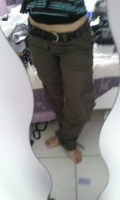 Pantalon été kaki