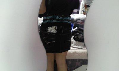 Mini jupe noire