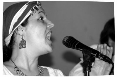Marielle, chanteuse / hautboïste
