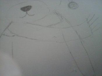 Petit ours de noël...