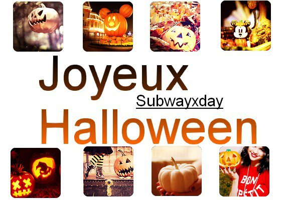 Halloween approche.