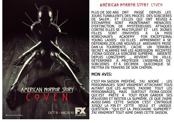 American Horror Story :_MON AVIS + Synopsis_