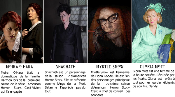 American Horror Story : _Personnages principaux_