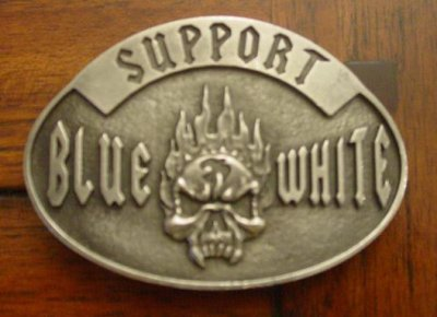 SUPPORT BLUE & WHITE