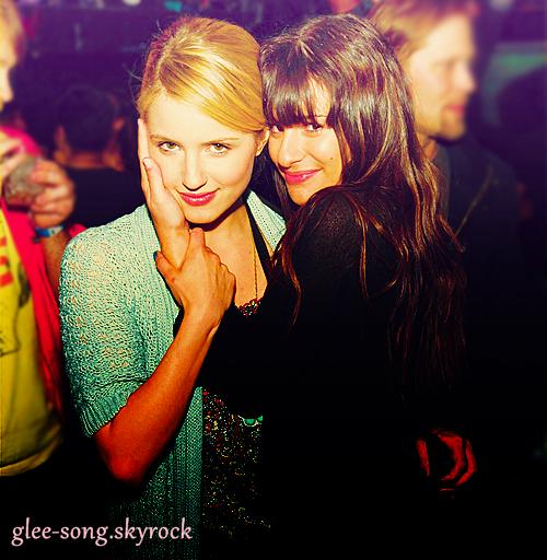 Dianna exclu de Glee à cause de Léa ?