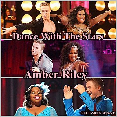 """Amber Riley : Grande gagnante de la version """"Américaine de Danse Avec Les Stars"""" ."""