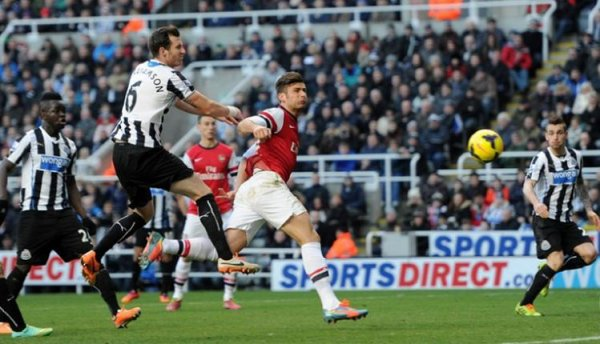 Premier League: Newcastle 0-1 Arsenal