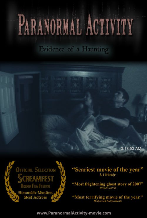 PARANORMAL ACTIVITY.   ✰✰_ _ _