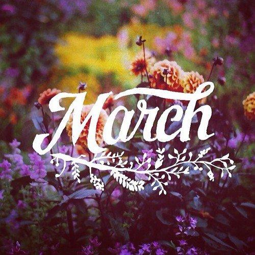 Spring arrives ...
