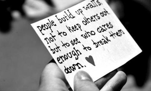 L'amour détruit mais n'oublions pas que l'union est une force. ♥
