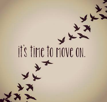 It's time to move on. 🏃