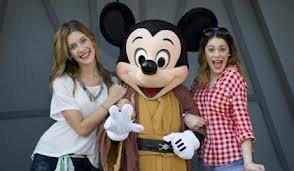 Magnifique cette photo avec Mickey