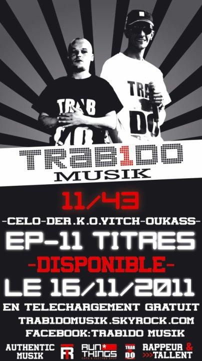 ♪ ♪ ♪  Le 11 Titres du groupe Trab1do DISPONIBLE  ♪ ♪ ♪