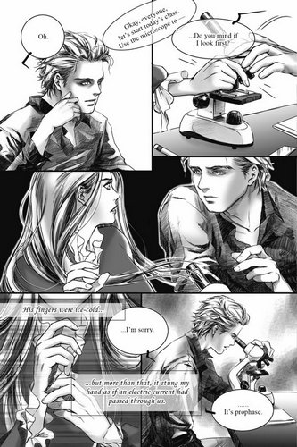 Twilight manga 1