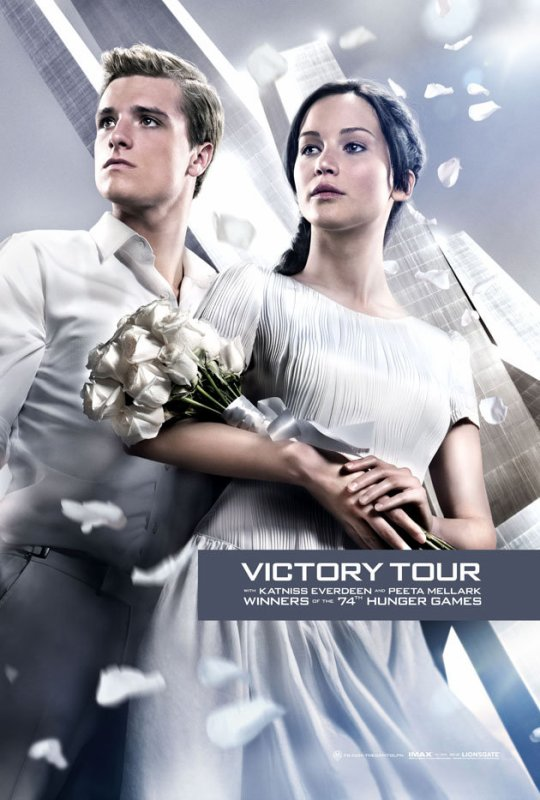 Film Hunger Games 2 : L'embrasement (suite )