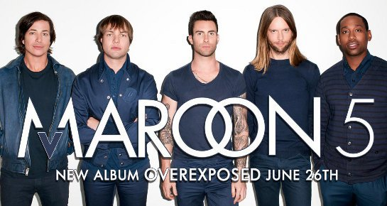 Maroon 5 New Album !!!!!!!!!!!!!!