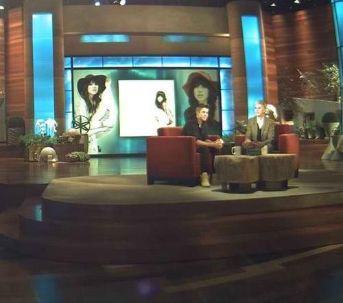 Justin au Ellen Show 22/03/12
