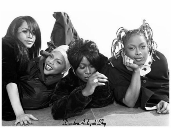 Aaliyah <3, Lil Kim <3 , Missy elliott <3 , Da Brat <3